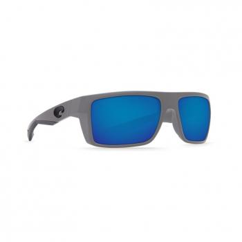 Очки поляризационные COSTA DEL MAR Motu W580 р. M цв. Matte Gray цв. ст. Blue Mirror Glass