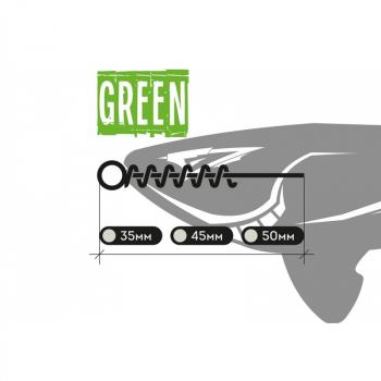 Оснастка XBAITS X Screw's Green 45 мм