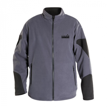 Куртка NORFIN флис Storm Proof цвет серый/черный в интернет магазине Rybaki.ru