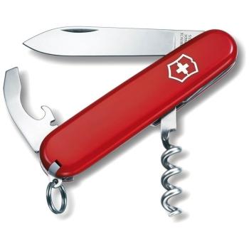 Нож VICTORINOX Waiter р. 84 мм, 9 функций, цв. красный, карт. коробка в интернет магазине Rybaki.ru