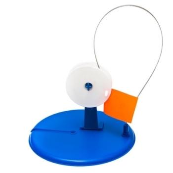 Комплект жерлиц FISHERMAN ФТКж зимняя круглая с прямой стойкой (10 шт.)