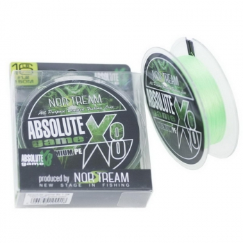 Плетенка NORSTREAM Absolute Game 8x #1,5 цв. fluo light green в интернет магазине Rybaki.ru
