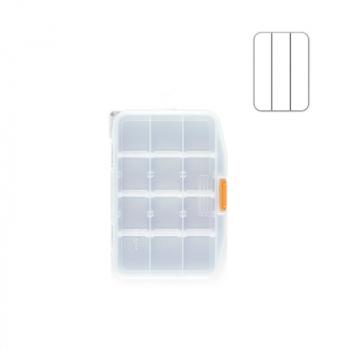 Коробка MEIHO Worm Case F цв. прозрачный в интернет магазине Rybaki.ru