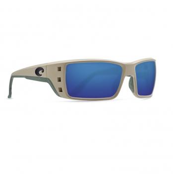Очки поляризационные COSTA DEL MAR Permit 580G р. XL цв. Sand цв. ст. Blue Mirror