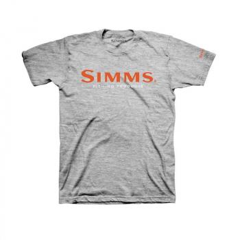 Футболка SIMMS Logo T-Shirt цвет Grey Heather