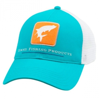 Кепка SIMMS Tarpon Trucker Cap цв. Cabana Blue