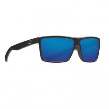 Очки поляризационные COSTA DEL MAR Rinconcito 580G р. M цв. Matte Black цв. ст. Blue Mirror