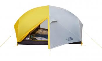 Палатка THE NORTH FACE Triarch 2 Person Tent цв. Канареечный желтый / серый в интернет магазине Rybaki.ru