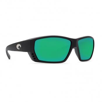 Очки поляризационные COSTA DEL MAR Tuna Alley W580 р. L цв. Matte Black цв. ст. Green Mirror Glass