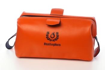 Несессер HUNTINGHORN 334 Кожа / Ткань цв. Оранжевый в интернет магазине Rybaki.ru