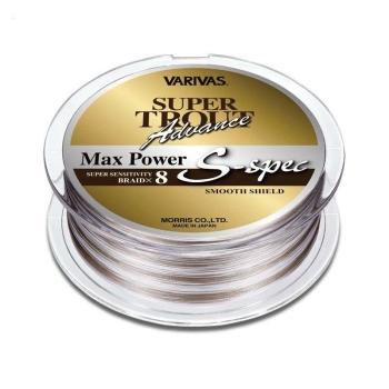 Плетенка VARIVAS Super Trout Advance Max Power PEx8 150 м цв. Серый/белый # 1 в интернет магазине Rybaki.ru
