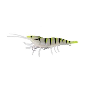 Приманка SAVAGE GEAR 3D Hybrid Shrimp S 10 см цв. 04-Yellow tail Glow