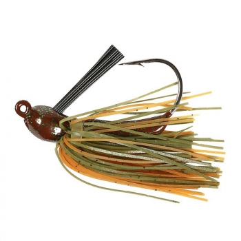 Бактейл STRIKE KING Bitsy Flip Jig 14 г (1/2 oz) цв. green crayfish