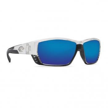 Очки поляризационные COSTA DEL MAR Tuna Alley 580P р. L цв. Crystal цв. ст. Blue Mirror