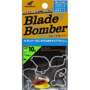 Груз-спиннер HAYABUSA FS207 Blade Bomber 10 г цв. Желтый/красный в интернет магазине Rybaki.ru
