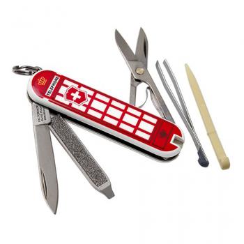 Нож VICTORINOX Classic A Trip to London 7 функций 58 мм