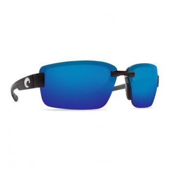 Очки поляризационные COSTA DEL MAR Galveston 580P р. L цв. Shiny Black цв. ст. Blue Mirror