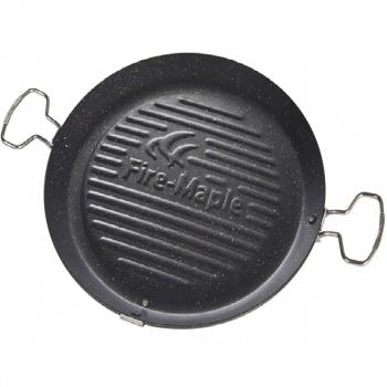 Сковорода-гриль FIRE-MAPLE Portable Grill Pan 656 г/438х343х40мм/312х310х28мм в интернет магазине Rybaki.ru