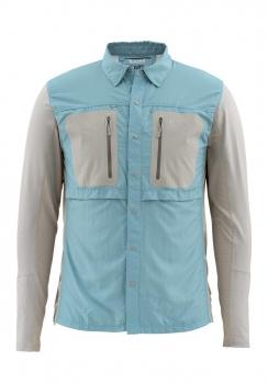 Рубашка SIMMS GT TriComp LS Shirt цвет Cadet Blue