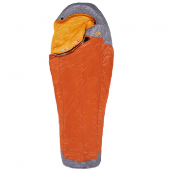 Спальный мешок THE NORTH FACE Lynx 2°C Sleeping Bag левый р. Regular цв. Оранжевый гавайский восход