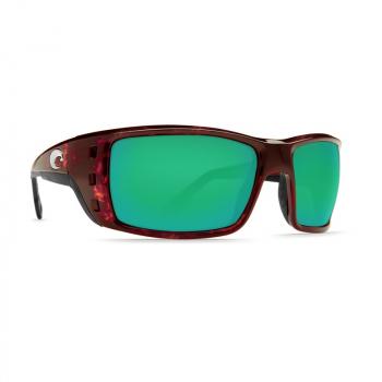 Очки поляризационные COSTA DEL MAR Permit 580P р. XL цв. Tortoise цв. ст. Green Mirror