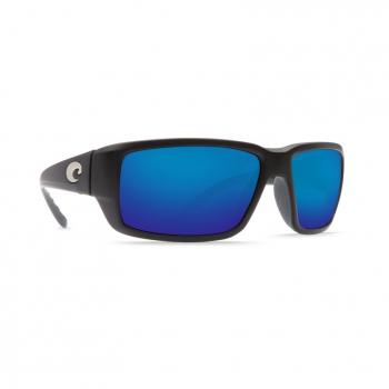 Очки поляризационные COSTA DEL MAR Fantail 580P р. M цв. Matte Black цв. ст. Blue Mirror