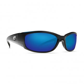 Очки поляризационные COSTA DEL MAR Hammerhead 580P р. XL цв. Shiny Black цв. ст. Blue Mirror