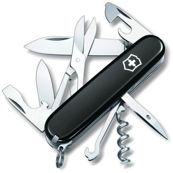 Нож VICTORINOX Huntsman р. 91 мм, 15 функций, цв. чёрный