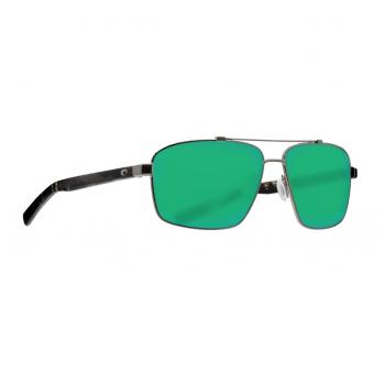 Очки поляризационные COSTA DEL MAR Flagler 580P р. L цв. Brushed Gunmetal цв. ст. Green Mirror