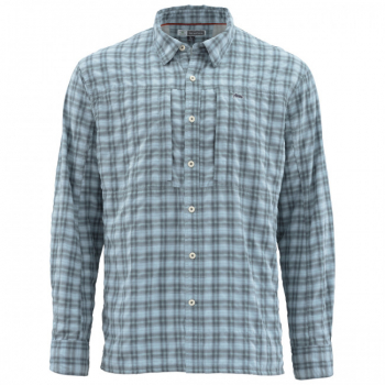 Рубашка SIMMS Bugstopper LS Shirt цвет Storm Plaid