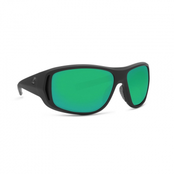 Очки поляризационные COSTA DEL MAR Montauk 580G р. M цв. Matte Black Ultra цв. ст. Green Mirror