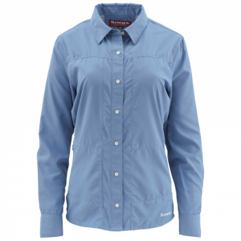 Рубашка SIMMS WS Isle LS Shirt цвет Sky Blue
