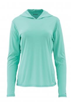Термофутболка SIMMS Women's Solarflex Hoody цвет mint