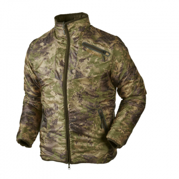 Куртка HARKILA Lynx Insulated Reversible Jacket цвет Willow green / AXIS MSP Forest green