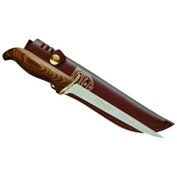 Нож филейный RAPALA PRFBL6 (лезвие 15 см, дерев. рукоятка)