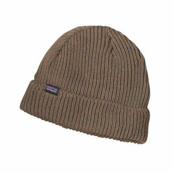 Шапка PATAGONIA Fishermans Rolled Beanie цвет ASHT