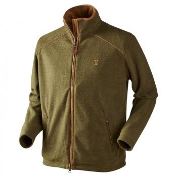 Толстовка HARKILA Sandhem Fleece Jacket цвет Olive green melange
