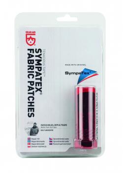 Набор заплаток GEAR AID Sympatex Fabric Patches цв. черный (10 х 5 см / диам. 7,6 см) в интернет магазине Rybaki.ru