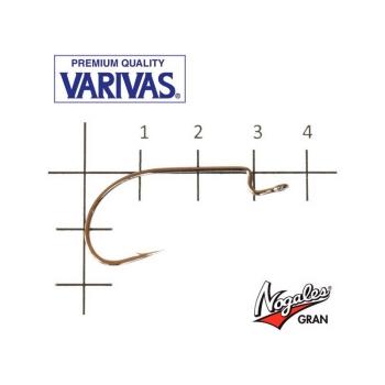 Крючок офсетный VARIVAS Hooking Master Heavy Class № 1/0 (8 шт.) в интернет магазине Rybaki.ru