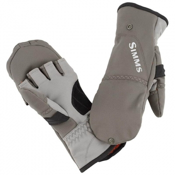 Варежки SIMMS Exstream Foldover Mitt цвет Dark Gunmetal