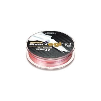 Плетенка VARIVAS Avani Eging Max Power PEx8 150 м цв. Розовый/белый # 0,8 в интернет магазине Rybaki.ru