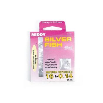 Оснастка MIDDY Microbarb 18 to 0.12 HTN (9 поводков + 10 хомутов)