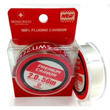 Флюорокарбон MONCROSS Premium Carbon 50 м #1.5 в интернет магазине Rybaki.ru