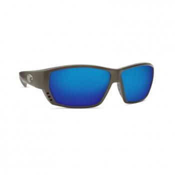 Очки поляризационные COSTA DEL MAR Tuna Alley 580P р. L цв. Steel Gray Metallic цв. ст. Blue Mirror