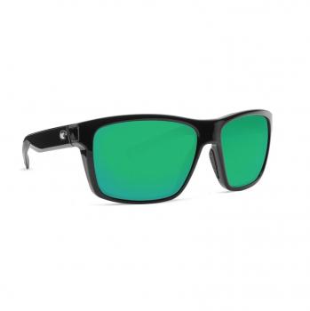 Очки поляризационные COSTA DEL MAR Slack Tide 580P р. L цв. Shiny Black цв. ст. Green Mirror