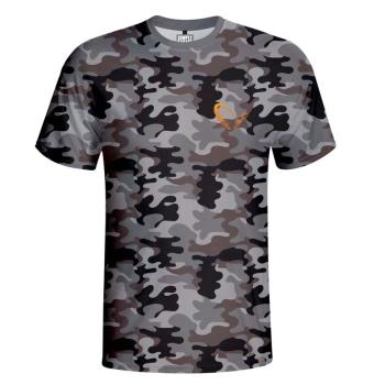 Футболка SAVAGE GEAR Simply Savage Camo T-shirt цвет Серый камуфляж