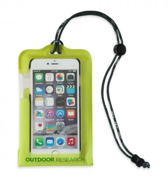 Гермочехол OUTDOOR RESEARCH Sensor Dry Pocket для электроники р. L цв. Lemongrass