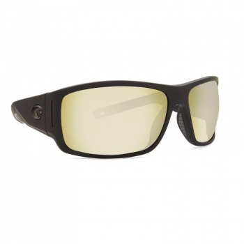 Очки COSTA DEL MAR Cape 580 P р. XL цв. Matte Black Ultra цв. ст. Sunrise Silver Mirror