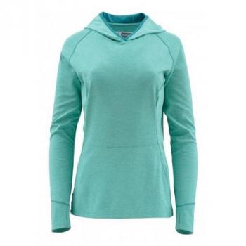 Футболка SIMMS Women's Bugstopper Hoody цвет Aqua