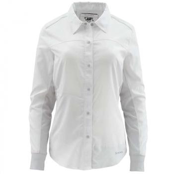 Рубашка SIMMS Women's BiComp LS Shirt цвет White